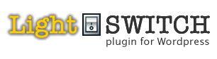Light Switch plugin for Wordpress