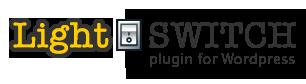 Light Switch plugin for Wordpress